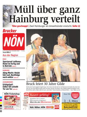 Titelblatt NÖN Bruck