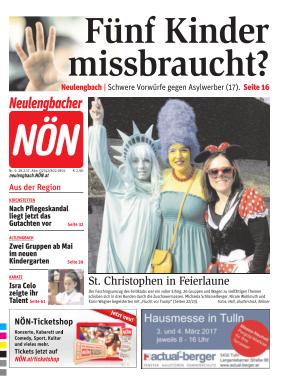Titelblatt NÖN Neulengbach