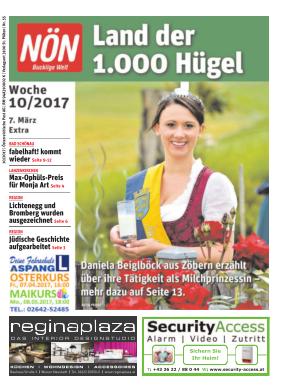 Titelblatt NÖN Extra Bucklige Welt