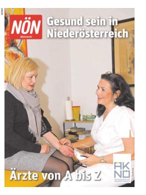 Titelblatt NÖN Extra Weinviertel