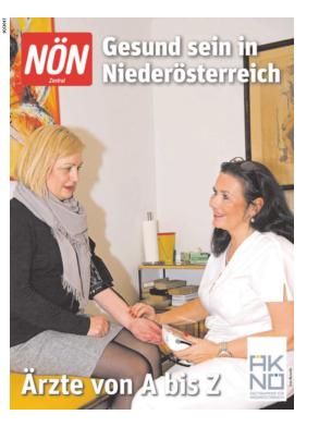 Titelblatt NÖN Extra Zentral