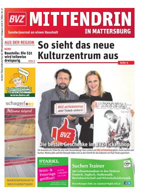 Titelblatt NÖN Postwurf Mattersburger