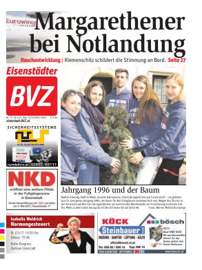 Titelblatt BVZ Eisenstadt