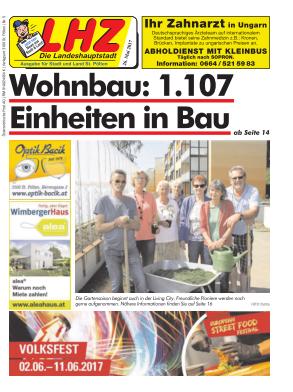 Titelblatt NÖN Die Landeshauptstadtzeitung