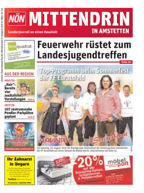 Titelblatt NÖN Postwurf Amstetten