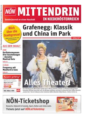 Titelblatt NÖN Mittendrin in NÖ – West