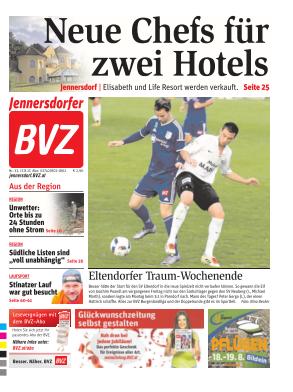 Titelblatt NÖN Jennersdorf