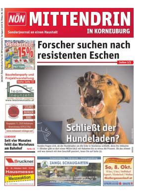 Titelblatt NÖN Postwurf Korneuburg