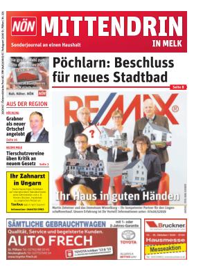 Titelblatt NÖN Postwurf Melk