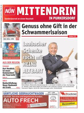 Titelblatt NÖN Postwurf Purkersdorf