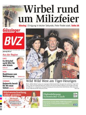 Titelblatt NÖN Güssing