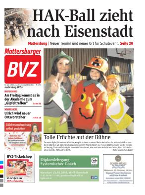 Titelblatt NÖN Mattersburg