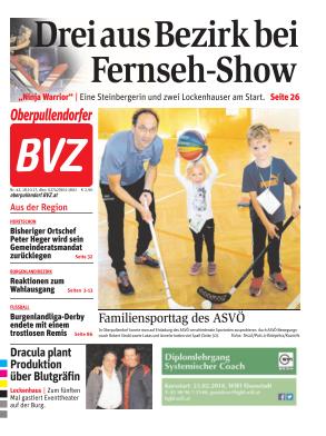 Titelblatt NÖN Oberpullendorf