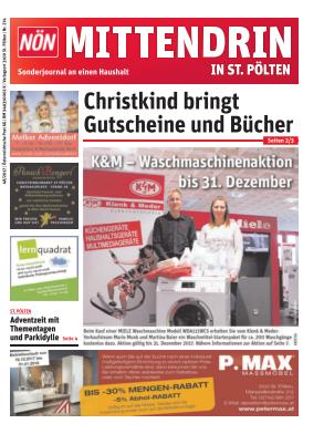 Titelblatt NÖN Postwurf St. Poeltner