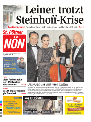 Titelblatt NÖN St. Poelten