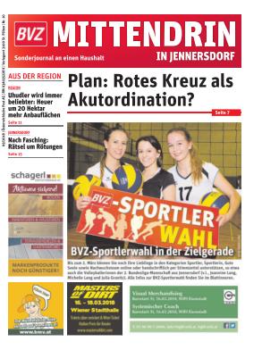 Titelblatt NÖN Postwurf Jennersdorfer
