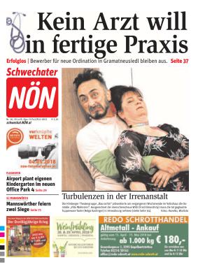 Titelblatt NÖN Schwechat