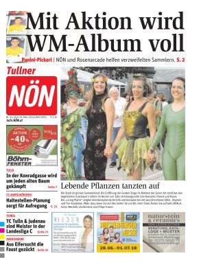 Titelblatt NÖN Tulln