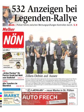 Titelblatt NÖN Melk
