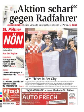 Titelblatt NÖN St. Pölten