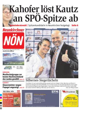 Titelblatt NÖN Neunkirchen