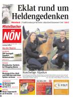 Titelblatt NÖN Mistelbach