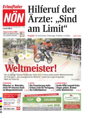 Titelblatt NÖN Erlauftal
