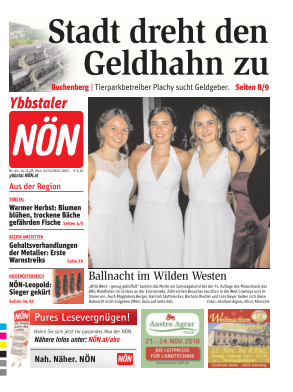 Titelblatt NÖN Ybbstal