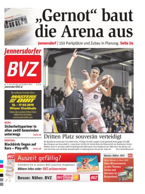 Titelblatt BVZ Jennersdorf