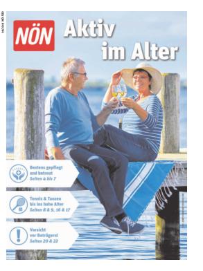 Titelblatt NÖN NOEN Landeszeitung Extra Sued