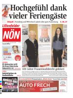 Titelblatt NÖN Lilienfeld