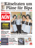 Titelblatt NÖN Waidhofen