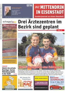 Titelblatt NÖN Postwurf Eisenstädter