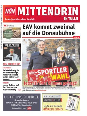 Titelblatt NÖN Postwurf Tulln