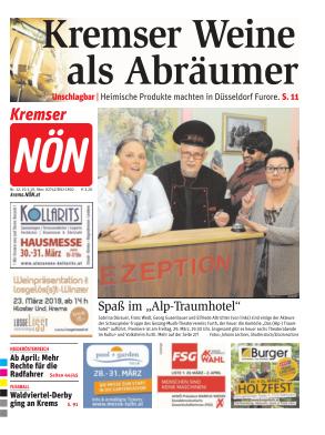Titelblatt NÖN Krems
