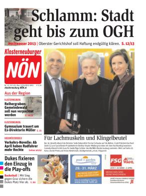 Titelblatt NÖN Klosterneuburg