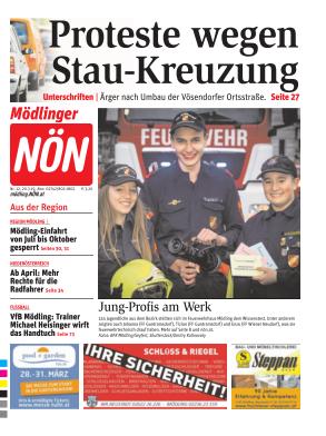 Titelblatt NÖN Mödling
