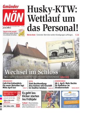 Titelblatt NÖN Gmünd