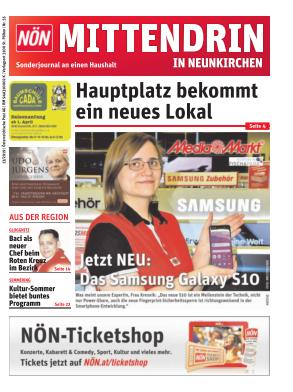 Titelblatt NÖN Postwurf Neunkirchen
