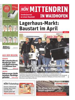 Titelblatt NÖN Postwurf Waidhofen