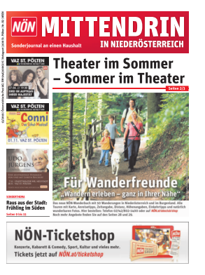 Titelblatt NÖN Postwurf Wien