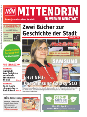 Titelblatt NÖN Postwurf Wr. Neustadt