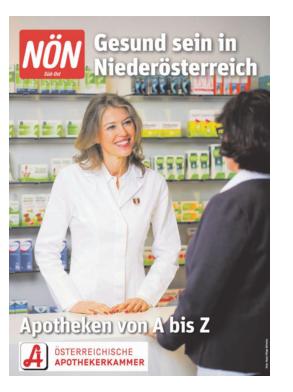 Titelblatt NÖN Extra Baden