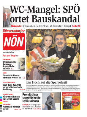 Titelblatt NÖN Gänserndorf