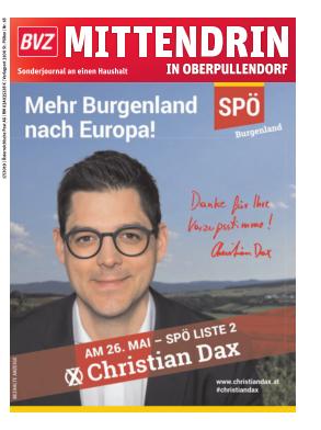 Titelblatt NÖN Postwurf Oberpullendorfer