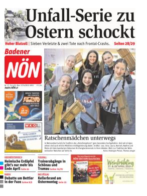 Titelblatt NÖN Baden