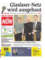 Titelblatt NÖN Haag