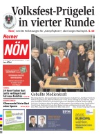 Titelblatt NÖN Horn