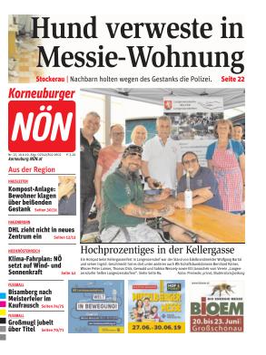 Titelblatt NÖN Korneuburg