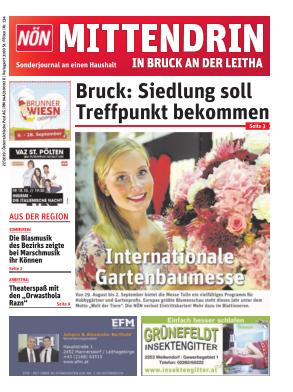 Titelblatt NÖN Postwurf Bruck